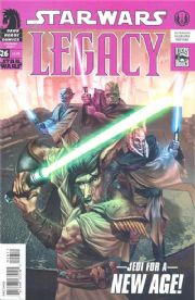 Star Wars Legacy #26 (2008) Dark Horse comic book